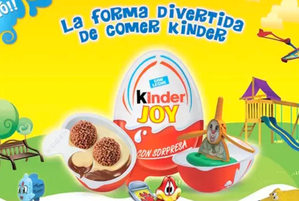 kinder – Joy Magia – Mezcla de sonido